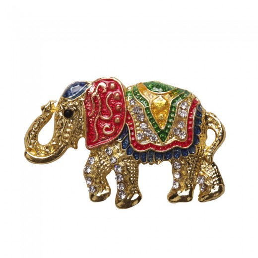 Magnet with stones-Magnet elephant