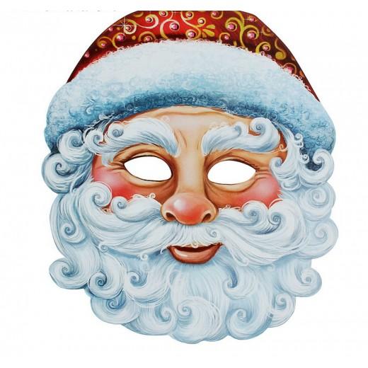"Mask of carnival ""Santa Claus"""