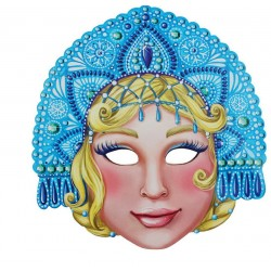 "Mask carnival ""Snow Maiden"", 26.6 x 28 cm"