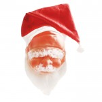 """Latex Mask """"Santa Claus"""". with cap, big"""