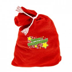 "Carnival Claus Santa bag ""bag with gifts"" 60 * 95"