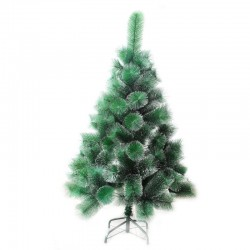 Cedar Green 180 cm, d Lower Tier 87 cm, d Needles 12 cm, 186 Branches, Metal Stand