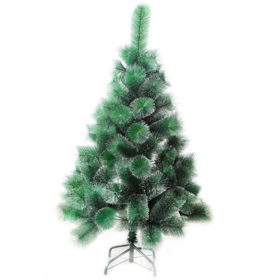 11290138,Cedar Green With Snow 210 cm, d Lower Tier 120 cm, d Needles 12 cm, 266 Branches, Metal Stand