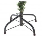 Cedar Green With Snow 210 cm, d Lower Tier 120 cm, d Needles 12 cm, 266 Branches, Metal Stand