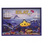 Eilat magnet is a unique souvenir with a bright design