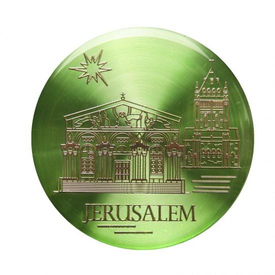 Magnet color set - Jerusalem