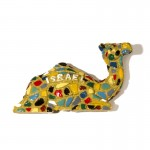 Magnet camel inscription Israel - a unique souvenir with a bright design