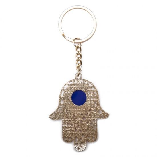 Hams keychain, color silver