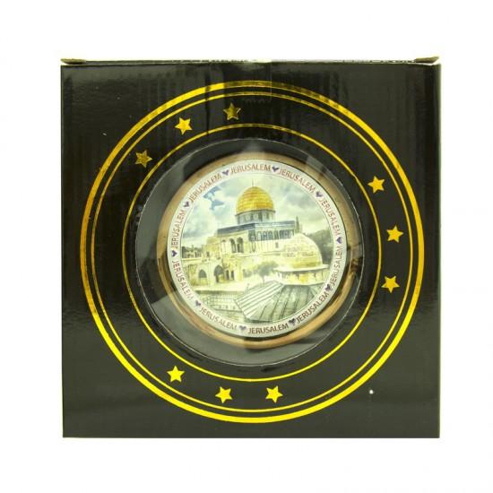Jerusalem Souvenir Plate