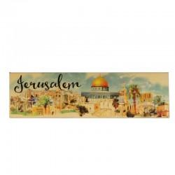 Магнит прямоугольный, Иерусалим ( Jerusalem)