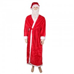 Clothes for Santa Claus, color red