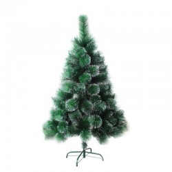 Christmas tree with snow 180 cm with plastic base